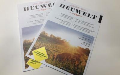 Vorstellung Kundenmagazin Heuwelt