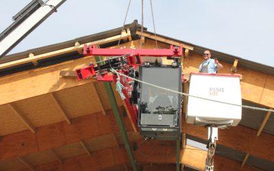 Inbetriebnahme Heutrocknung 300 to in Normandie